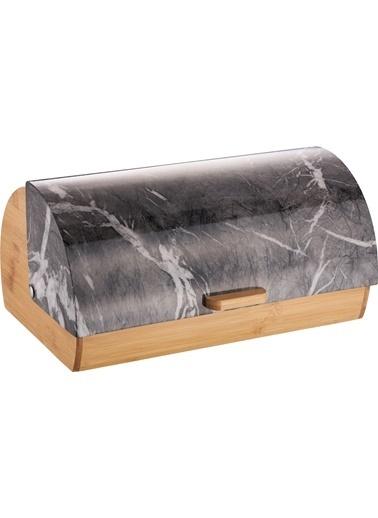 Bayev Ekmek Kutusu - Siyah Mermer Siyah